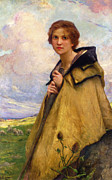 The Shepherdess Glass - The Shepherdess by Charles Lenoir