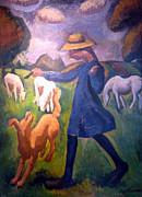 The Shepherdess Print by Roger de La Fresnaye
