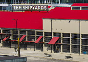 Window Signs Art - The Shipyards In Vancouver by Ben and Raisa Gertsberg