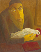 Israel Tsvaygenbaum - The Shochet with Rooster