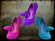 Shoe Digital Art - THE SHOES - featured in Manufactured Objects by EricaMaxine  Price