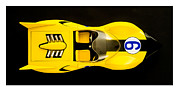 Racer Metal Prints - The Shooting Star Racer Xs Number 9 Race Car Metal Print by Edward Fielding