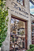 Store Fronts Framed Prints - The Shops at Old Edwards Inn Framed Print by Allen Carroll