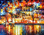 Leonid Afremov - The Shores Of Spain