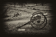 Artillery Metal Prints - The Silent Guns of Gettysburg  Metal Print by Paul W Faust -  Impressions of Light