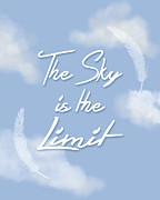 The Sky Is The Limit Prints - The Sky Is The Limit Print by Patrycja Polechonska