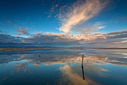 Salton Sea Prints - The Sky Whispered Print by Peter Tellone