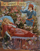 Nineteen-tens Art - The Sleeping Beauty 1910s Uk Fairy by The Advertising Archives