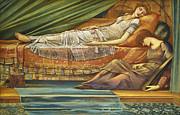 The Sleeping Princess Print by Sir Edward Burne-Jones