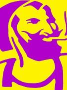 The Smoker Print by Ed Weidman