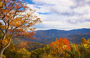 Gatlinburg Tennessee Prints - The Smokies Print by Lena Auxier