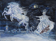 Ringo Painting Originals - The Snow Queen by Elena Ringo