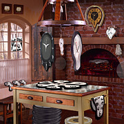 Clocks Digital Art - The Soft Clock Shop 3 by Mike McGlothlen