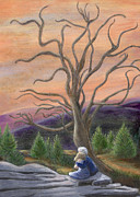 Catherine Howard Art - The Solace Tree by Catherine Howard