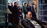 Soprano Framed Prints - The Sopranos Framed Print by David  Jones