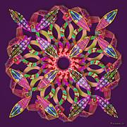 Walter Oliver Neal - Blooming Mandala 1