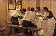 Famous Artists - The Soup. Version II by Albin Egger-Lienz