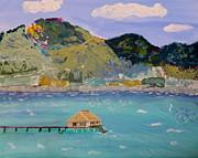 The South Seas Print by Phyllis Kaltenbach