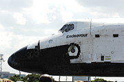 Space Shuttle Endeavour Prints - The Space Shuttle Endeavour 1 Print by Micah May