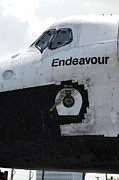 Space Shuttle Endeavour Posters - The Space Shuttle Endeavour 3 Poster by Micah May