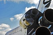 Endeavour Prints - The Space Shuttle Endeavour Print by Micah May