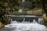 Del Rio Tx Prints - The Spillway Print by Amber Kresge