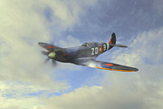 Roy Mcpeak Metal Prints - The Spitfire Metal Print by Roy McPeak