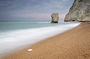 Weymouth Bay Posters - The Stack at Bats Head Durdle Door Poster by Chris Frost
