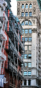 New York City Fire Escapes Photos - The Stairmaster by JC Findley