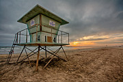 Lifeguard Photos - The Stand by Peter Tellone