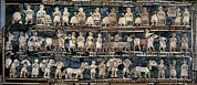 Babylonian Photos - The Standard Of Ur. 2600 -2400 Bc by Everett
