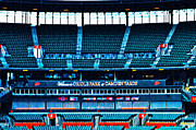 Bleachers Framed Prints - The Stands at Oriole Park Framed Print by Bill Cannon