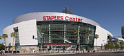 Nba Framed Prints - The Staples Center Framed Print by Mountain Dreams