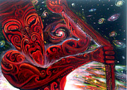 Maori Paintings - The Star Navigator by Arthur Thatcher