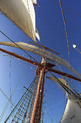Nautical - The Star Of India. Mast And Sails by Ben and Raisa Gertsberg
