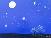 Lori Ziemba Prints - The Starry Night Print by Lori Ziemba