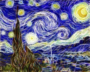Adam Romanowicz - The Starry Night Reimagined