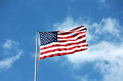 Flag Of Usa Prints - The Stars and Stripes Print by Nishanth Gopinathan