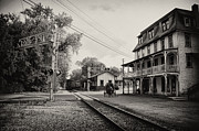 Berks County Prints - The Station at Reinholds Inn Print by Bill Cannon