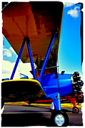 Stearman Framed Prints - The Stearman II Framed Print by David Patterson