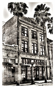 Ybor City Framed Prints - The Stein Building Framed Print by Marvin Spates