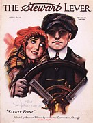 Nineteen-tens Art - The Stewart Lever 1910s Usa Driving by The Advertising Archives