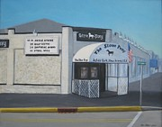Concerts Painting Framed Prints - the Stone Pony Framed Print by Tim Maher
