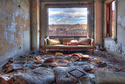 Abandoned Buildings Prints - The Stories It Could Tell Print by Bryan Levy
