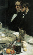 Dinner Paintings - The Story by Charles Webser Hawthorne