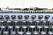 Typewriter Keys Photo Prints - The Story Told 1 Print by Angelina Vick