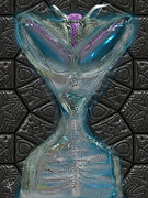Alien Eyes Framed Prints - The Strategist Framed Print by Russell Pierce