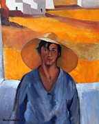 Masterpiece Originals - The Straw Hat - after Nikolaos Lytras by Kostas Koutsoukanidis