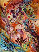 The Stream Of Life Part I Print by Elena Kotliarker