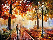 Leonid Afremov - The Stroll Of Infinity